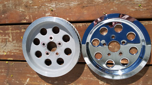 Harley Davidson Belt Pulley and Chrome Cover