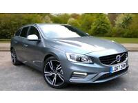 2017 Volvo V60 D4 190hp Euro 6 R Design Lux Automatic Diesel Estate