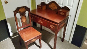 Chinese desk and chair