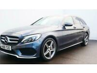 2015 MERCEDES C-CLASS C220d AMG Line 5dr Estate diesel Manual