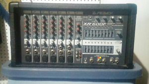 *REDUCED*Peavey XR600F Amplifier Mixer and EV 100S speakers