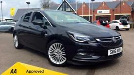 2016 Vauxhall Astra 1.4T 16V 150 Elite 5dr Manual Petrol Hatchback