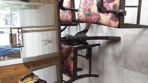 antique dining room set, with buffet