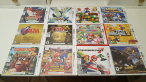 Nintendo 3DS Games ($25 each)
