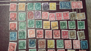 Old and new stamps