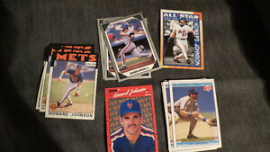 Howard Johnson MLB cards(18)