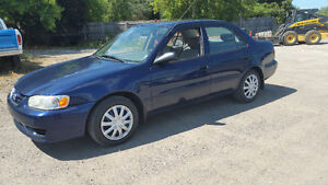 2002 Toyota Corolla Saftied and etested