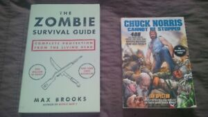 4 pop culture books - all in new condition - $4 each