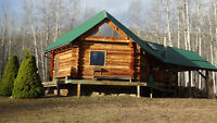 Gorgeous log cabin in paridice 25 minutes from smithers