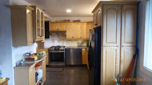 Used Maple complete kitchen - natural finish,