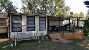Trailer awning hard roof and room. Kawartha Lakes Peterborough Area image 4