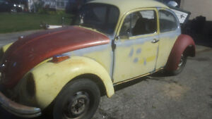 1972 beetle runs well and road ready!