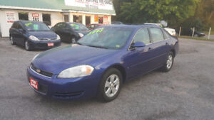 2007 CHEVROLET IMPALA LT  *** CERTIFIED *** $3995