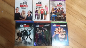 The big bang theory 1.2.3.4.6.7. English only