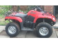 Arctic cat 425i atv not Suzuki, Honda Yamaha