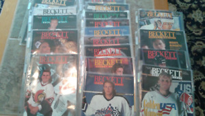 Beckett Hockey Monthly - 21 issues