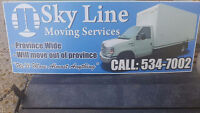 Skyline Moving. In and out of NL