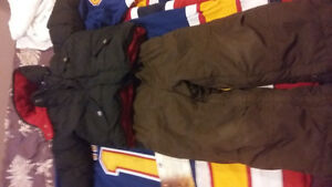 child's snow pants and winter jacket.SIZE 2T  great shape