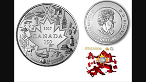 PURE SILVER COIN HEART OF OUR NATION