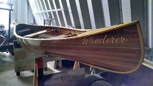 Cedar Strip Canoe