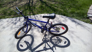 "18"" Boys 5 speed bike  Works great  $40"