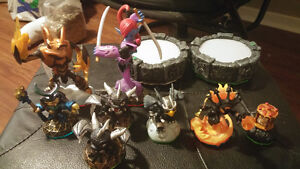 Skylanders Giants for 3ds game and figure lot for sale