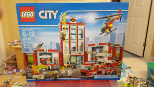 Lego - City - 60110 Fire Station  - New In Box