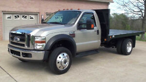 2011 Ford F-550 single flat Pickup Truck