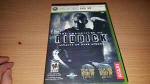 Xbox 360 The Chronicles of Riddick: Assault on Dark Athena new