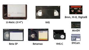 D8,HI8,8MM,MINI-DV,VHS-C,VHS,BETAMAX*NOW PAL-SECAM-NTSC TO DVD. Yellowknife Northwest Territories image 10