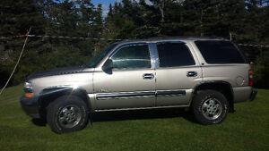 2001 Chevrolet Tahoe new mvi $$ 3250