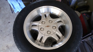 Chevy extreme rims with tires