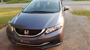 2015 Honda Civic ex berline gris charcoal