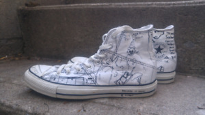 Limited Edition Kurt Cobain Converse Chuck Taylor All Stars