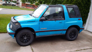 1991 Chevrolet Tracker CL Coupe (2 door)