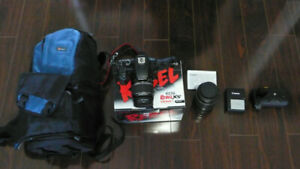 Canon EOS Rebel XS - EF-S 18-55 IS and EF-S 18-200 IS