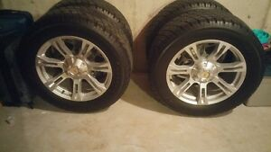 "33""A/T tires and 20""rims like new for sale off a 2014 Dodge Ram."