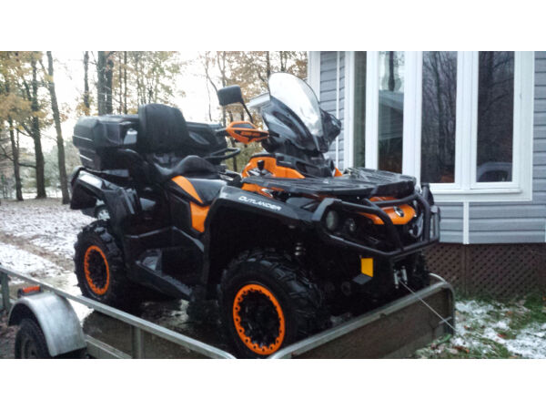 Used 2015 Can-Am Outlander XTP (XT-P) Max