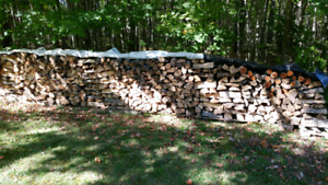 Dry seasoned firewood