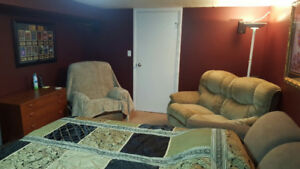 Affordable Furnished Basement Bedroom for Rent in Innisfail, AB