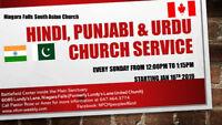 Hindi/Punjabi Church Service