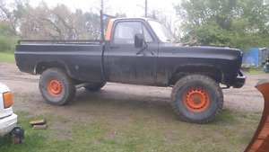 1977 chev 2500 mud truck needs gone make an offer cash