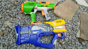 Lots of nerf guns for sale!