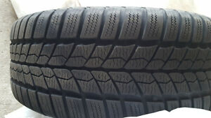 205/55R16 Winter Tires with rims from VW Jetta