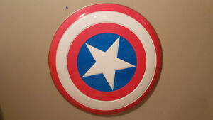 Captain America Shield and Jacket for sale