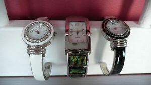Three BEAUTIFUL watches   $6  each or 3 for $15