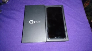 New LG G7 Thinq Platinum