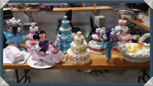 Diaper Cakes and Crafts St. John's Newfoundland image 1