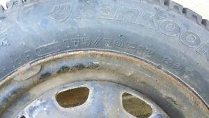 Pneu dhiver 175/70R13 Gatineau Ottawa / Gatineau Area image 3