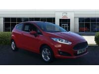 2016 Ford Fiesta 1.25 82 Zetec 3dr Petrol Hatchback Hatchback Petrol Manual